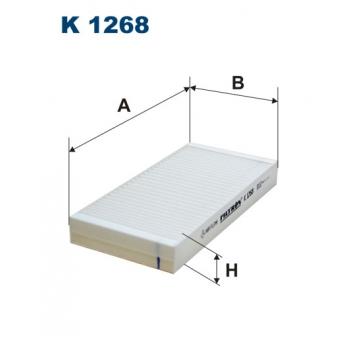 Filtron K 1268 - kabinovy filtr