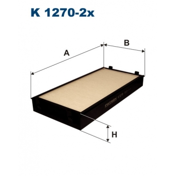 Filtron K 1270-2X - kabinovy filtr