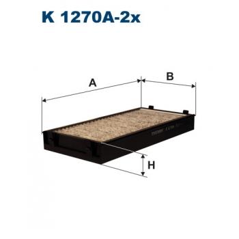 Filtron K 1270A-2X - kabinovy filtr
