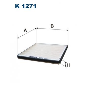 Filtron K 1271 - kabinovy filtr