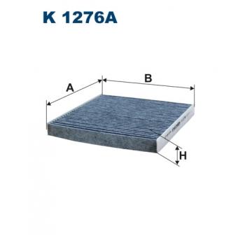 Filtron K 1276A - kabinovy filtr
