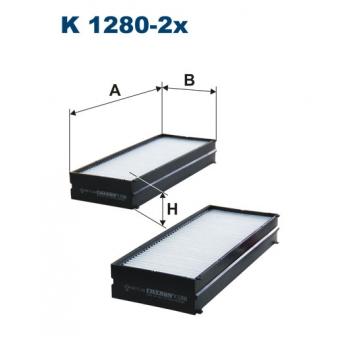 Filtron K 1280-2X - kabinovy filtr