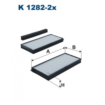 Filtron K 1282-2X - kabinovy filtr
