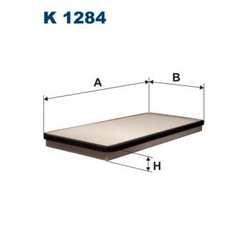 Filtron K 1284 - kabinovy filtr