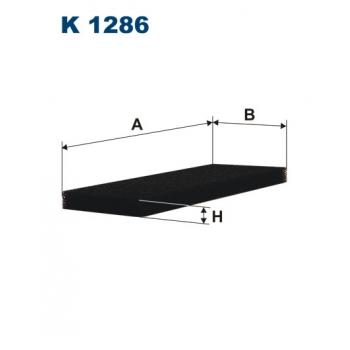 Filtron K 1286 - kabinovy filtr