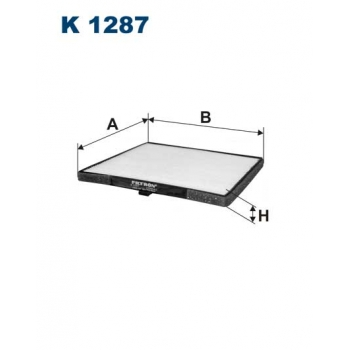 Filtron K 1287 - kabinovy filtr