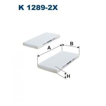 Filtron K 1289-2X - kabinovy filtr