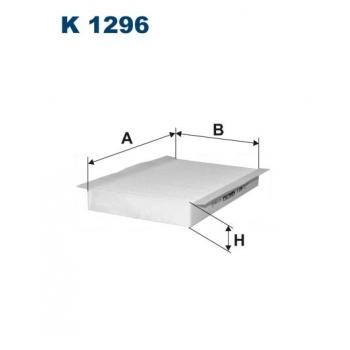 Filtron K 1296 - kabinovy filtr