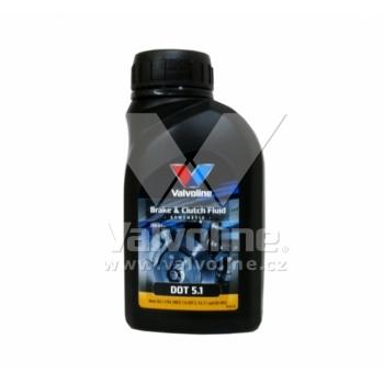 Valvoline brzdová kapalina Brake & Clutch Fluid DOT 5.1 1l