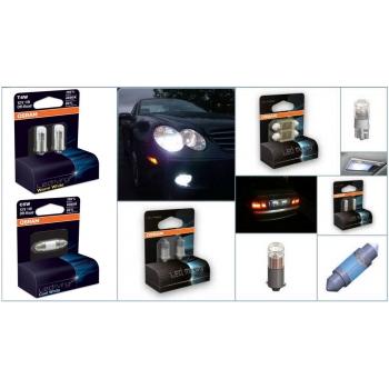 OSRAM 12V W5W (W2,1x9,5d) 1W LEDriving (2ks) Duo-blister 4000 K