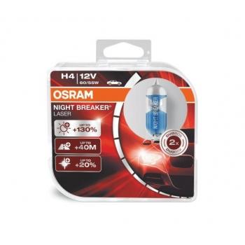 Autožárovka Osram H4 Night Breaker Laser 60/55W DUO BOX