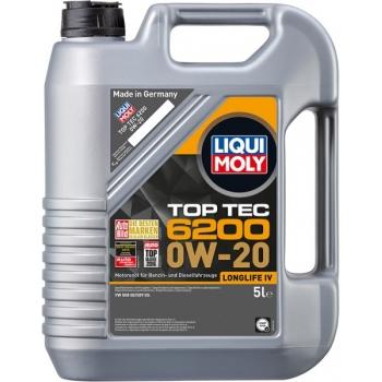 Liqui Moly motorový olej Top Tec 6200 0W-20 5l