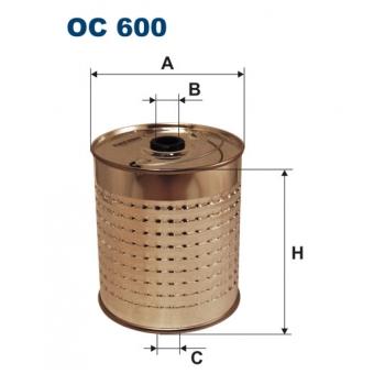 Filtron OC 600 - olejovy filtr