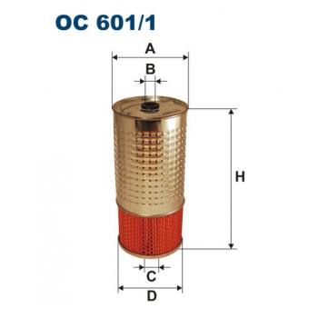 Filtron OC 601/1 - olejovy filtr
