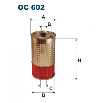 Filtron OC 602 - olejovy filtr