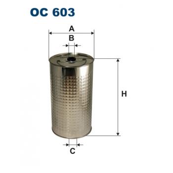 Filtron OC 603 - olejovy filtr