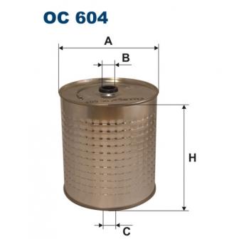 Filtron OC 604 - olejovy filtr