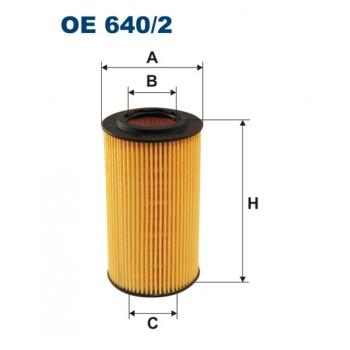 Filtron OE 640/2 - olejovy filtr