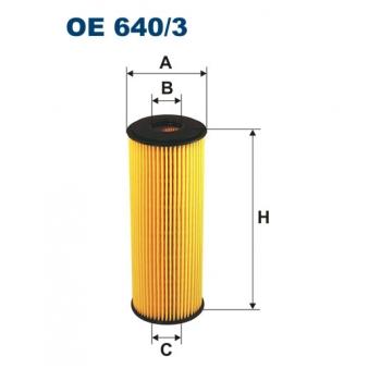 Filtron OE 640/3 - olejovy filtr