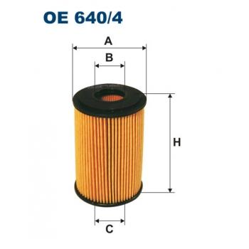 Filtron OE 640/4 - olejovy filtr