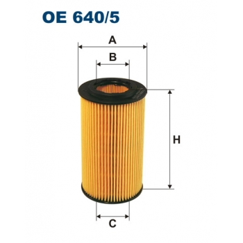 Filtron OE 640/5 - olejovy filtr