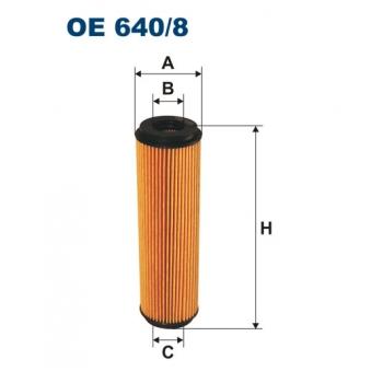 Filtron OE 640/8 - olejovy filtr