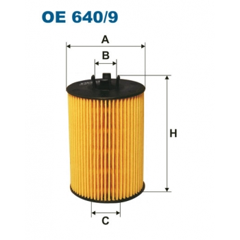 Filtron OE 640/9 - olejovy filtr