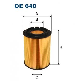 Filtron OE 640 - olejovy filtr