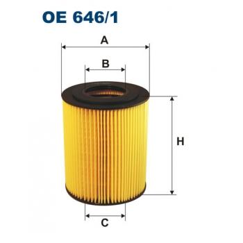 Filtron OE 646/1 - olejovy filtr