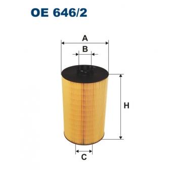 Filtron OE 646/2 - olejovy filtr
