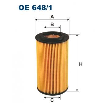 Filtron OE 648/1 - olejovy filtr