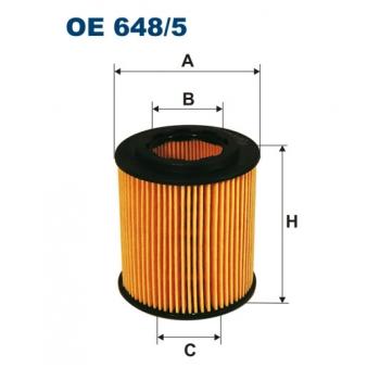 Filtron OE 648/5 - olejovy filtr