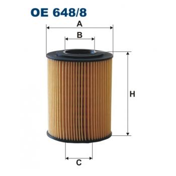 Filtron OE 648/8 - olejovy filtr