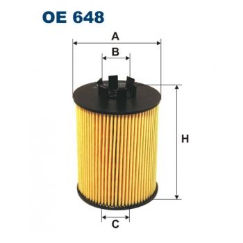 Filtron OE 648 - olejovy filtr