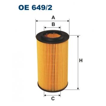 Filtron OE 649/2 - olejovy filtr