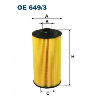 Filtron OE 649/3 - olejovy filtr