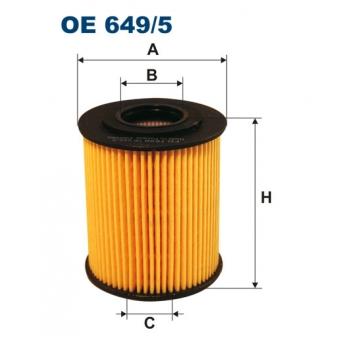 Filtron OE 649/5 - olejovy filtr