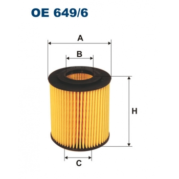 Filtron OE 649/6 - olejovy filtr