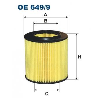 Filtron OE 649/9 - olejovy filtr
