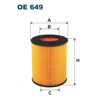 Filtron OE 649 - olejovy filtr