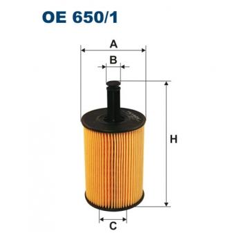 Filtron OE 650/1 - olejovy filtr