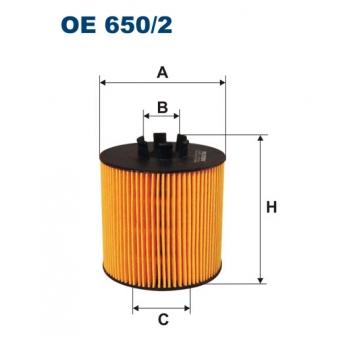 Filtron OE 650/2 - olejovy filtr