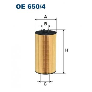 Filtron OE 650/4 - olejovy filtr