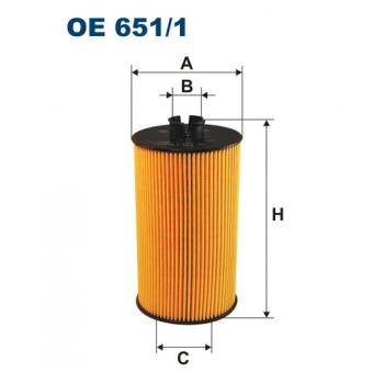 Filtron OE 651/1 - olejovy filtr