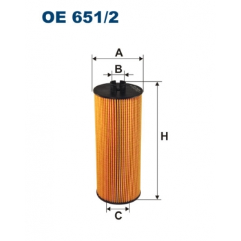 Filtron OE 651/2 - olejovy filtr
