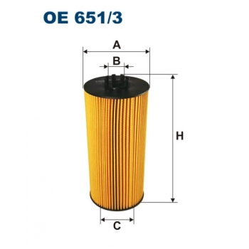 Filtron OE 651/3 - olejovy filtr