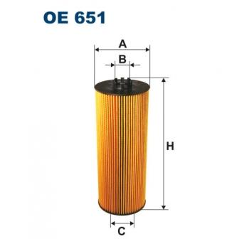 Filtron OE 651 - olejovy filtr