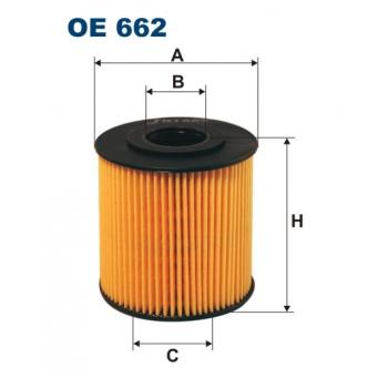 Filtron OE 662 - olejovy filtr