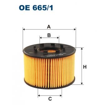Filtron OE 665/1 - olejovy filtr