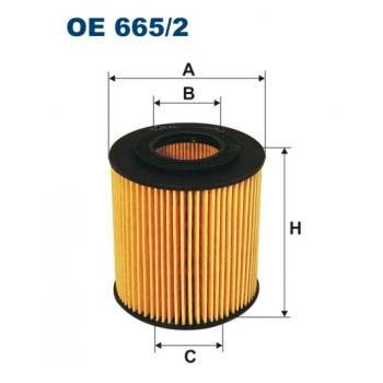 Filtron OE 665/2 - olejovy filtr
